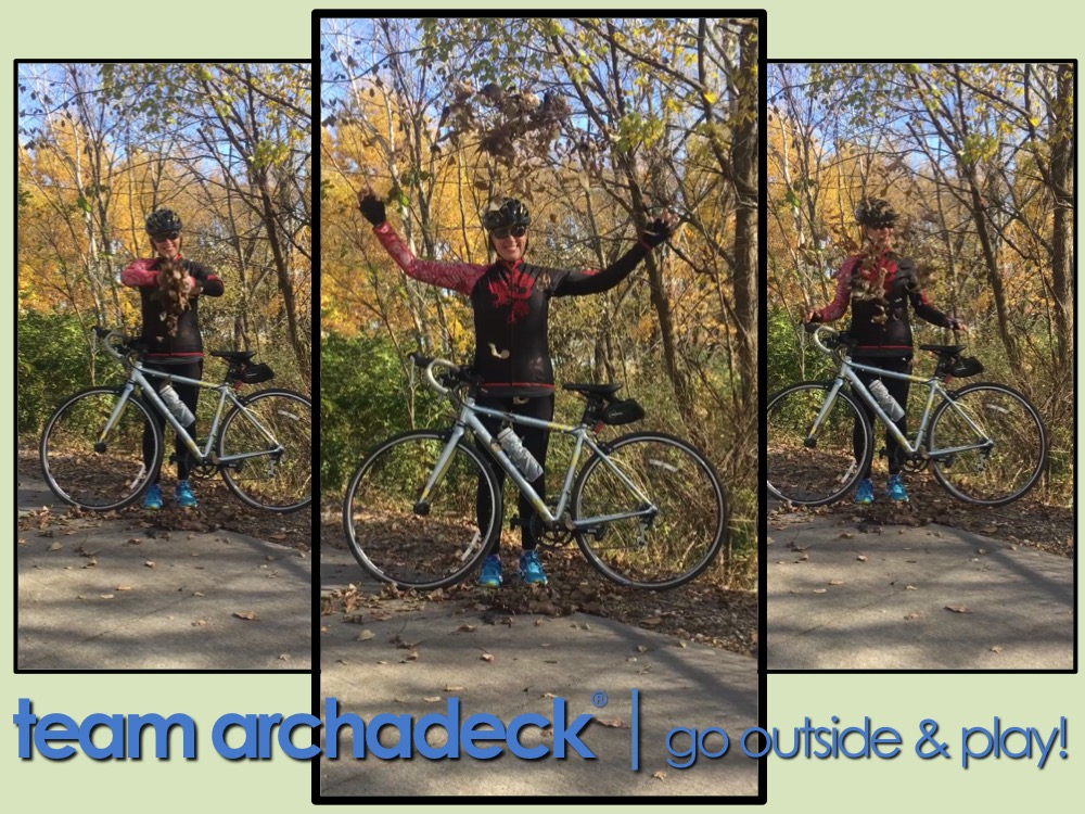 Biking in Central Iowa is Awesome in the Fall - Team Archadeck Thumbnail