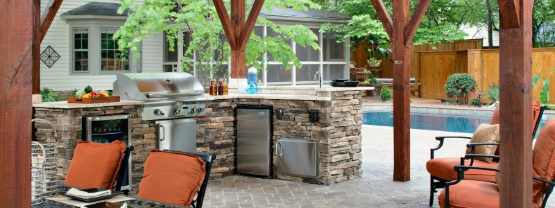 Outdoor Kitchen by Archadeck
