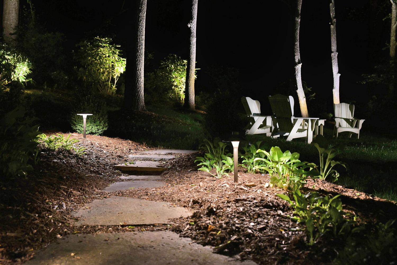 path lighting in Wilmington