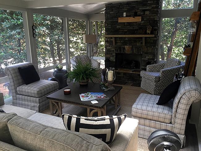 porch types - 4-season porch, sunroom