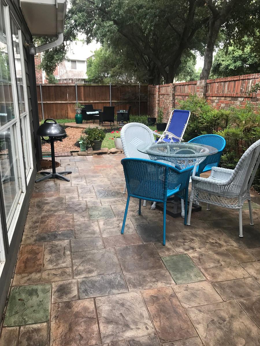 Addison-TX-custom-garden-hardscape-design