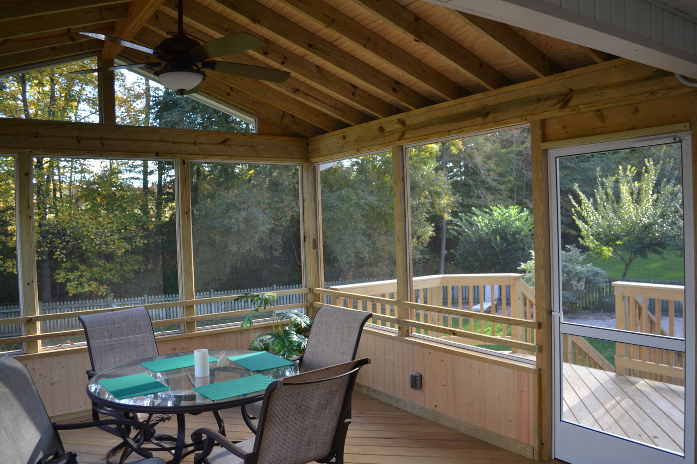 Screened Porches Are Perfect For Insect Protection