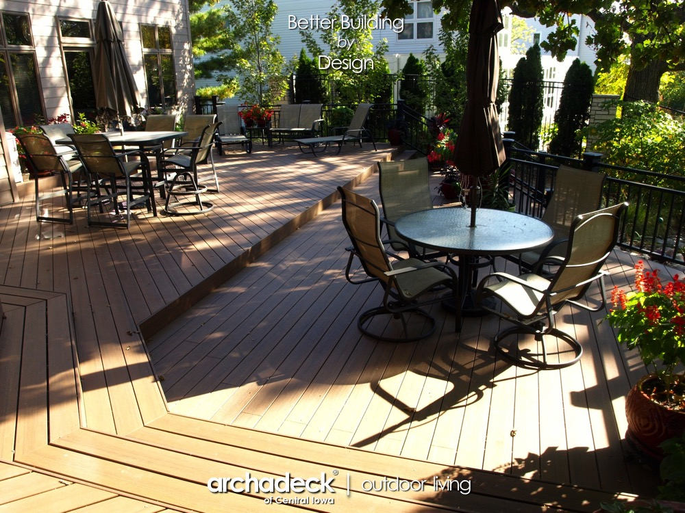 Multi-Level TimberTech Deck - West Des Moines Thumbnail