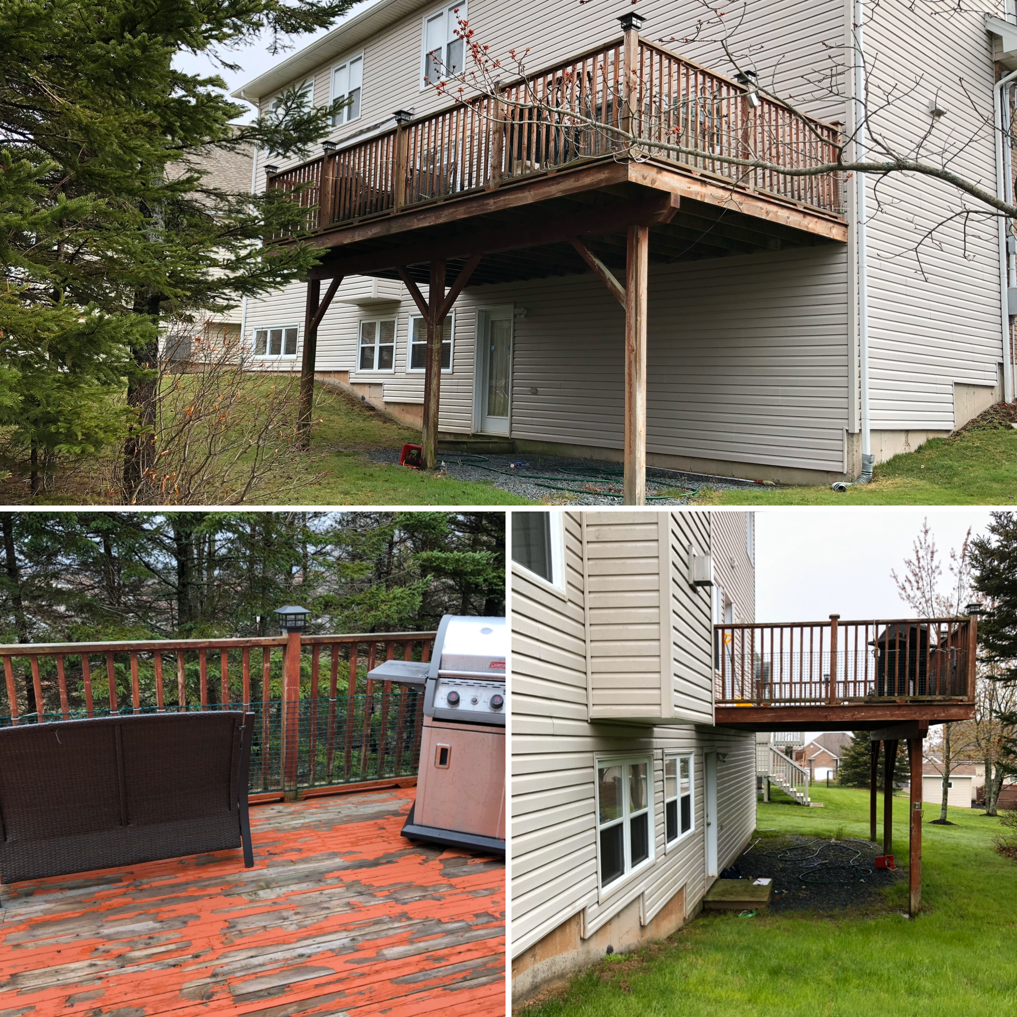 Before image of deck