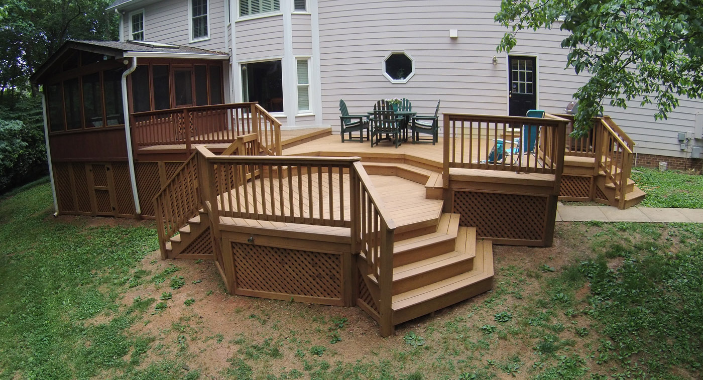 More archadeck of raleigh durham decking please for Porch durham