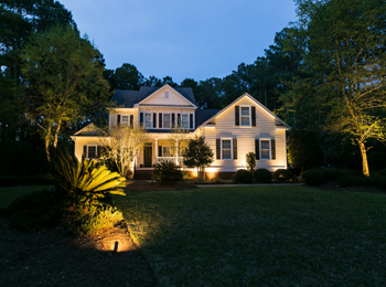 professional landscape lighting Charleston SC