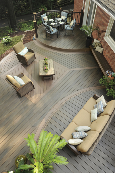 Marvin deck builder TimberTech deck