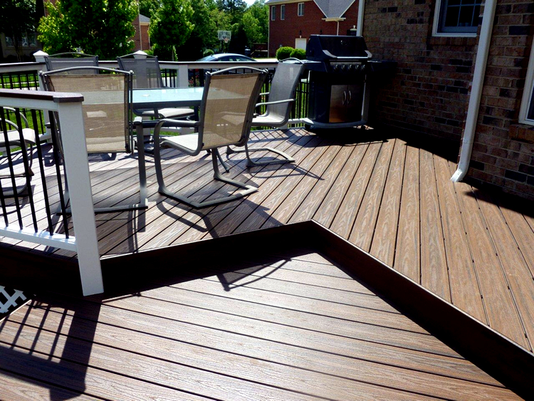 beautiful Trex deck