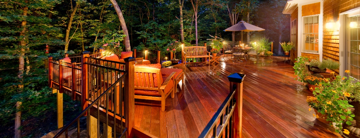 Deck and patio lighting in richmond whether it is a