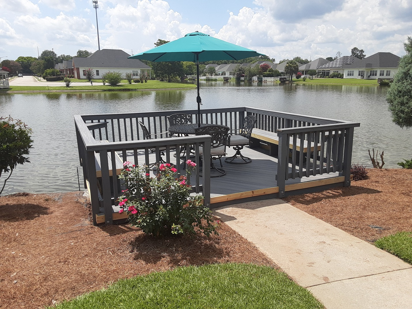 Upgraded-Centerville-dock-with-Fiberon-Good-Life-decking