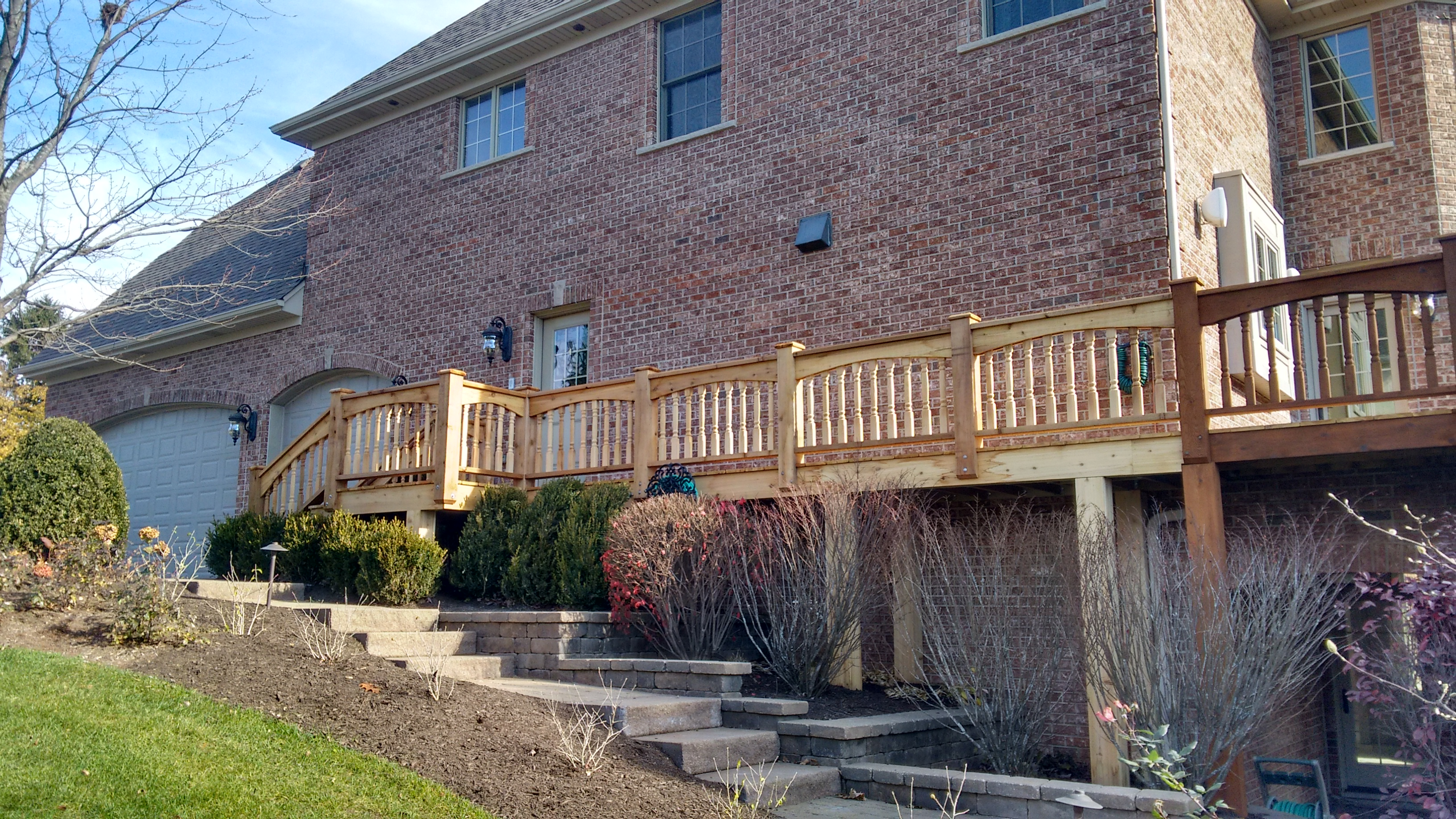 Custom Cedar Deck in Medinah, IL Thumbnail