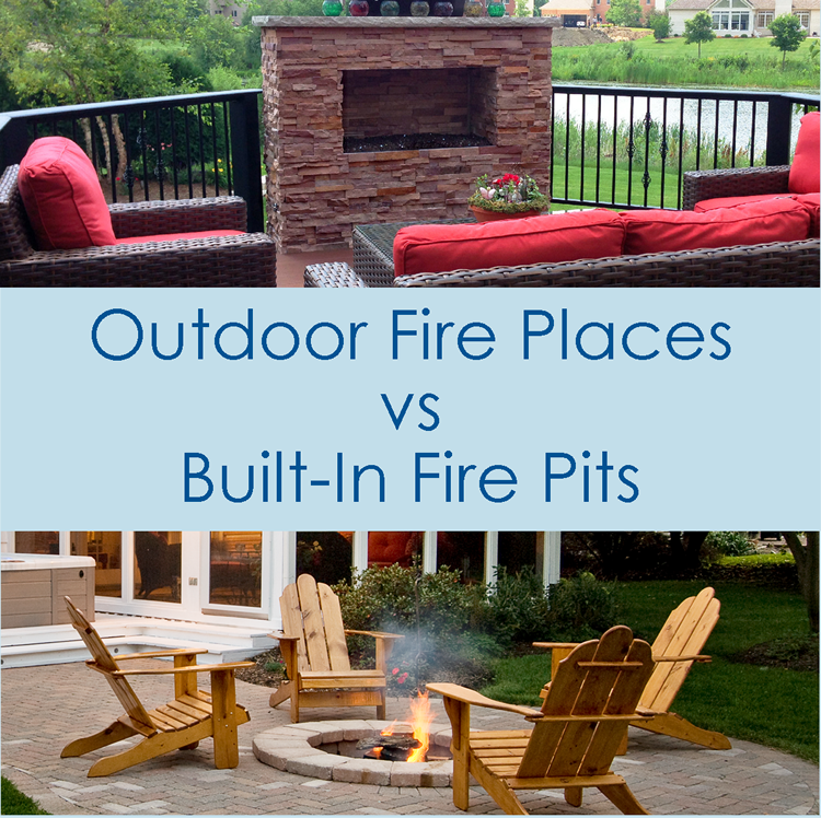 Outdoor Fireplaces Vs Fire Pits Archadeck Outdoor Living