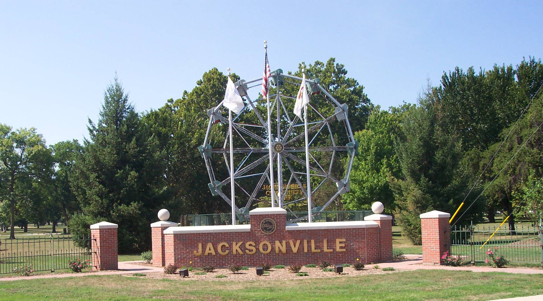 Jacksonville, IL outdoor landmark