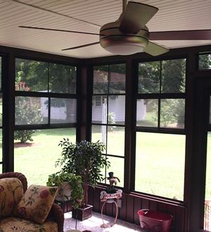 Winston Salem Inside Custom Porch