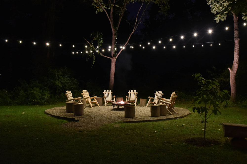 creative outdoor string lighting ideas