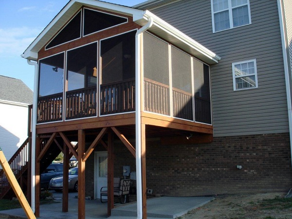 High Point NC screened porch builder