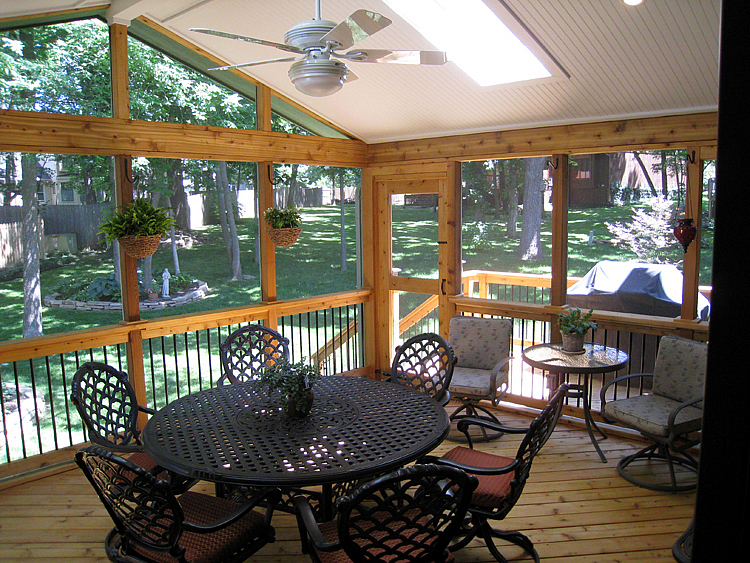 Overland Park KS screened porch