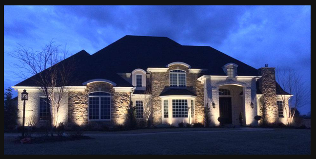 Architectural Landscape And Outdoor Lighting In
