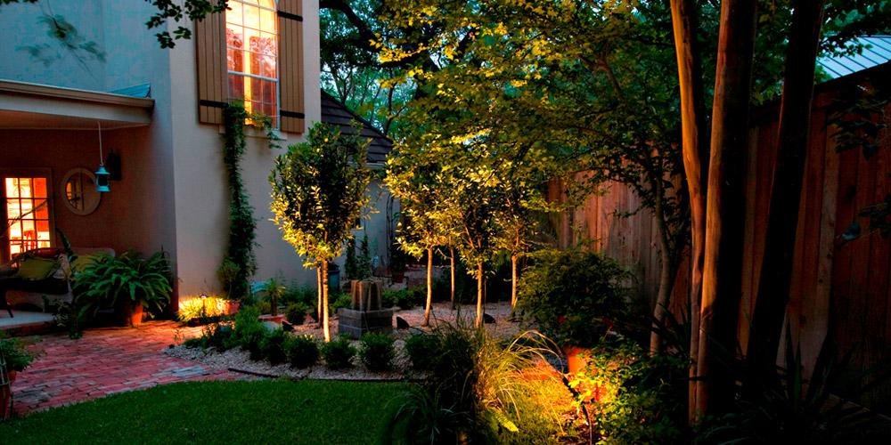 backyard lighting Mount Pleasant SC