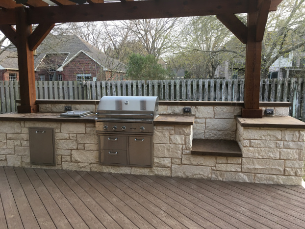 Austin TX Outdoor Kitchen Builder
