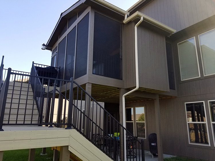 Raymore porch and deck builder