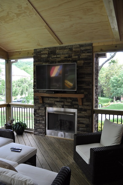 Nashville Outdoor Fireplace And Fire Pit Builder
